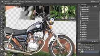 How to use the Eraser tool in photoshop