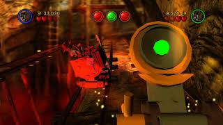 LEGO Indiana Jones: The Original Adventures 100% Guide #11 - Escape the Mines (All Collectibles)