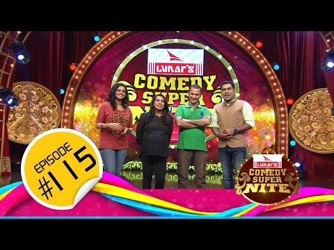 Comedy Super Night with Anna Katharina│അന്ന കാതറിന │CSN  #115