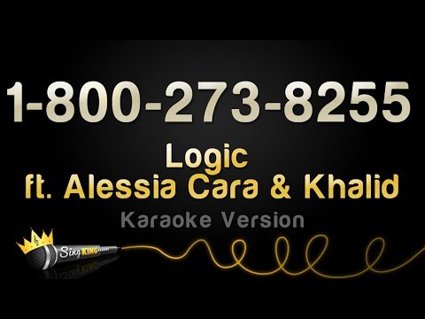 Logic ft. Alessia Cara & Khalid - 1-800-273-8255 (Karaoke Version)
