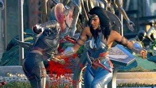 Wonder Woman Attempts to Kill Harley Quinn | INJUSTICE 2