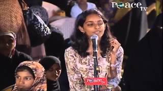 hindu brahmin girl asking about islam zakir naik new