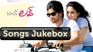 100% Love Telugu Movie Songs Jukebox || Naga Chaitanya, Tamanna || Telugu Love Songs
