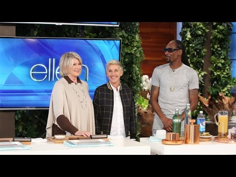 Martha Stewart and Snoop Dogg Share a Taste of Their New Show
