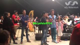 Darren Espanto-O'Holy Night with Massage from Coach Bamboo-ABSCBNChristmas Special Rehearsal