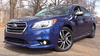 2017 Subaru Legacy 2.5i Sport: Road Test & In Depth Review
