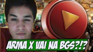 Brasil game show, quem vai? Será que o Arma X vai aparecer? - Gamervlog
