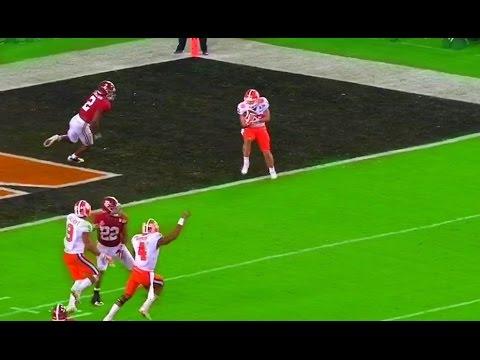 Clemson Alabama Highlights National Championship Highlights video 2017