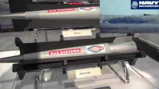 BAE Systems Electromagnetic Railgun at Sea Air Space 2014