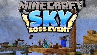 ALLES zerstört! Boss Event! - Minecraft SKY Folge #19