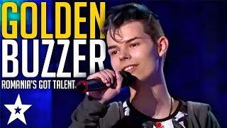 GOLDEN BUZZER MAROON 5 SINGER Blows Judges Away On Romania's Got Talent | Got Talent