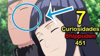 7 CURIOSIDADES de NARUTO SHIPPUDEN 451 |  Dash Aniston
