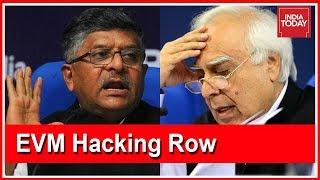 BJP Attacks Kapil Sibal Over EVM Hackathon Event; Congress Distances Itself From Sibal