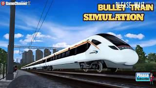 Bullet Train Simulation / Train Driver Sim Game / Android Gameplay Video