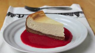 Food Wishes Recipes - New York Style Cheesecake Recipe - Sunshine Cheesecake Recipe