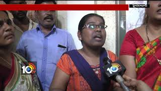 Students Getting Confusion with Degree Online Admissions & Demands 4th Phase Counseling | Hyd | 10TV