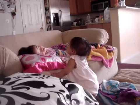 Lauren wakes up Iya