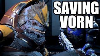 MASS EFFECT ANDROMEDA - Saving Vorn - Drack Loyalty Mission