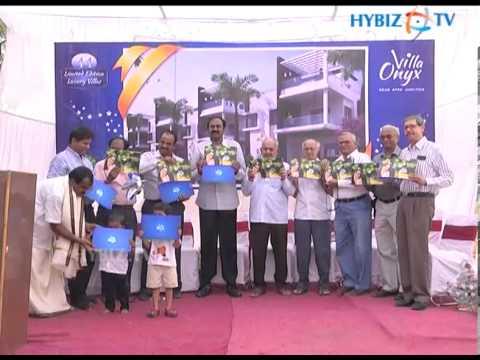 Villa Onyx Venture Launch by Gridhari Construction, Hyderabad, Andhra Pradesh.