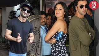 Sushant Singh Rajput Avoids Getting Clicked With Kriti | Katrina Doesn