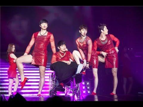 Kpop boy groups doing girl group dances 2
