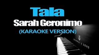 TALA - Sarah Geronimo (KARAOKE VERSION)