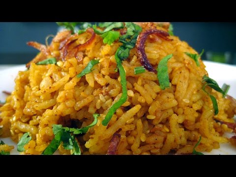 Sesame Tamarind Pulao Recipe From South Indian Cuisine By Sameer Goyal @ ekunji.com