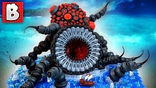 Giant LEGO Sea Monster TOP 10 MOCs