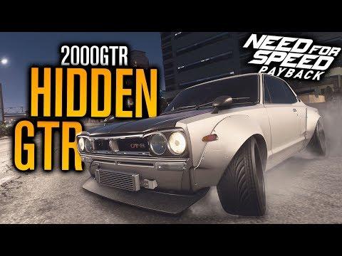 HIDDEN SKYLINE 2000 GTR LOCATION! | Need for Speed Payback (Speedcross DLC)