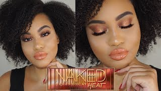 NEW URBAN DECAY NAKED HEAT PALETTE TUTORIAL