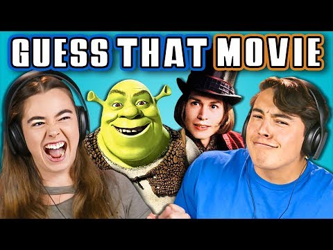 TEENS GUESS THAT MOVIE CHALLENGE REACT