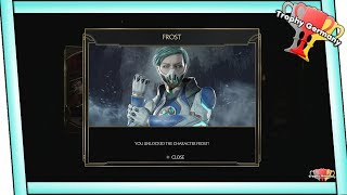 Mortal Kombat 11 - How to unlock Frost in the story (Complete on Medium)