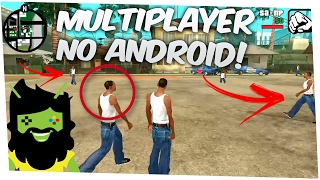 🔴COMO BAIXAR E INSTALAR GTA SAN ANDREAS MULTIPLAYER ANDROID GAMEPLAY