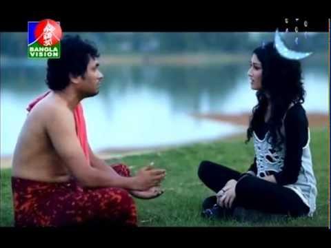 BANGLA DRAMA FUNNY SCENE HELLO BANGLADESH RUPONTY & ZAMIL MIRAKKEL FAMED WWW.LEELA.TV