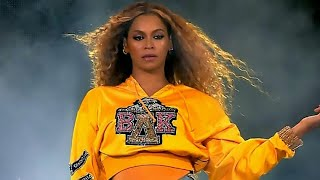 Beyonce Falls Down With Solange at Coachella Weekend 2