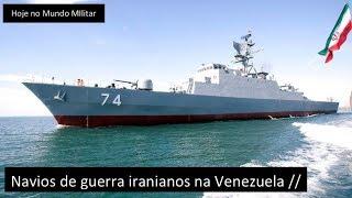 Navios de guerra iranianos na Venezuela