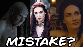 Did Game Of Thrones Make A Mistake?  (The Red Woman's Ruby)