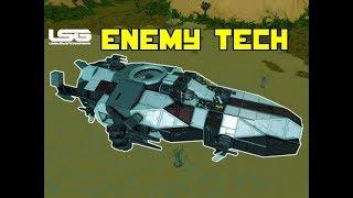 Gunboat Mk.II Enemy Technology - Space Engineers
