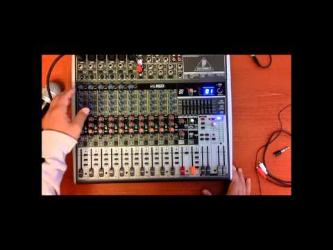 A Personal opinion of the Behringer XENYX X1832USB Small Format Mixer