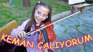 Parkta Keman Çalıyorum Ama Henüz Çok Yeniyim - Eğlenceli Çocuk Videosu - Funny Kids Videos