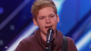 Chase Goehring: Songwriter With ORIGINAL HIT 'HURT' Will WOW You | America's Got Talent 2017