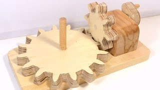 Making beveled right angle gears