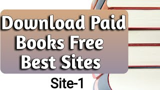 How to Download Paid Books Free- Any Paid EBooks, Google Books, Amazon Books| Download Free Books