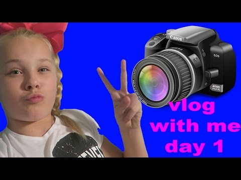 VLOG WITH ME! - DAY 1