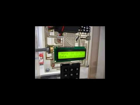 Projeto PIC Fechadura eletronica Electronic lock