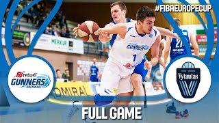 Redwell-Gunners (AUT) v Prienu-Birstono (LTU) - Full Game - FIBA Europe Cup 2016/17