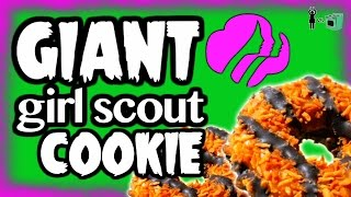 DIY GIANT Girl Scout Cookie, CORINNE VS COOKING #5