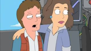 Back to the Future Family Guy (Good Quality)