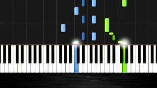 AronChupa - I'm an Albatraoz - Piano Cover/Tutorial by PlutaX - Synthesia