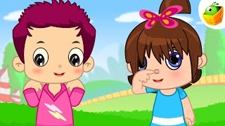 Head Shoulders Knees and Toes | English Nursery Rhymes | Magicbox English Kids Channel